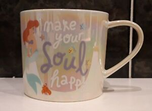 Disney The Little Mermaid Ariel Iridescent Tea Coffee Cup. Brand New