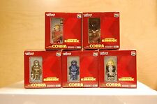 "Medicom x Taito ""SPACE COBRA ADVENTURE"" 5 Pc Kubrick Complete Set (MIB) Series 1"