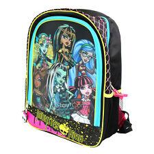 Nuevo Con Etiquetas De Monster High 3d Mochila Mochila Escolar cleo/ghoulia/draculaura / lagoona/frankie