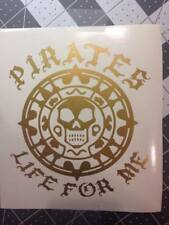 Pirate Sticker Decal Pirates Life for Me