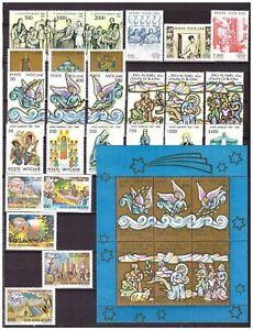 s15556) VATICANO MNH** 1988, Complete Year set 26v +S/S