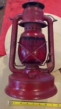 """Bell System Telephone Safety Lantern Old Rare - Bell System Marked Globe 13"""" Tal"""