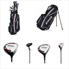 Mens Callaway Strata Complete 12-Piece Golf Club Set with Stand Bag Left-Handed