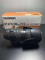 Tamron A001 AF 70-200mm F2.8 Di SP LD IF Macro Lens Minolta/Sony