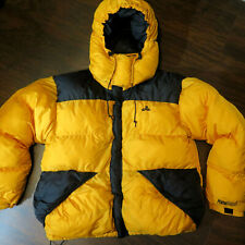 EMS Mens L Down Summit Peak Expedition Eastern Mountain Sport Hood Jacket Parka