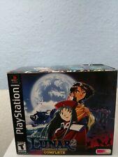 Lunar 2: Eternal Blue - PlayStation PS1 Complete CIB **RARE**