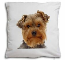 Cute Yorkshire Terrier Dog Soft Velvet Feel Cushion Cover With Inner, AD-Y12-CPW