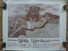 1970-1979 Plakate mit Malerei & Zeichnung
