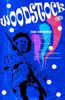 Woodstock 1969 Jimi Hendrix 11 x 17 High Quality Poster