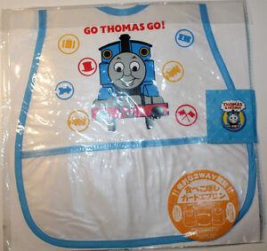 Thomas & Friends Childs Plastic Bib fr Japan Transparent with Pocket 28cmx44.5cm