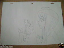 ZERO NO TSUKAIMA ANIME PRODUCTION GENGA DOUGA SKETCH