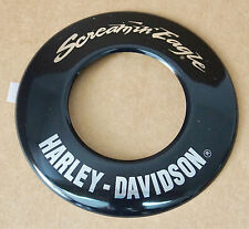HARLEY ORIGINAL SCREAMIN EAGLE LUFTFILTER EMBLEM SOFTAIL AIR CLEANER TRIM INSERT