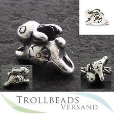 TROLLBEADS Silberbead Springendes Hasenbaby - Jumping Rabbit Baby 11361
