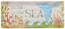 Mermaid Sea Beauty Rectangular Tray 11 x 4.75 Swim the Sea Ceramic