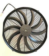 """NEW SPAL 30102049 16"""" Puller Fan Curved Blade 2024 CFM"""