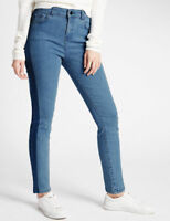 Ladies Ex M&S Skinny Ankle Grazer Women Jeans Marks & Spencer