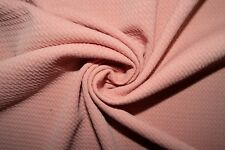 Rose Pink #15 Bullet Double Knit Stretch Polyester Lycra Spandex Fabric BTY
