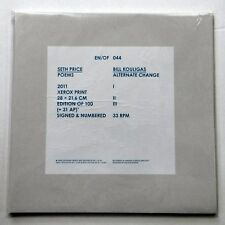 Seth Price / Bill Kouligas – Poems / Alternate Change - En/Of Edition 2011
