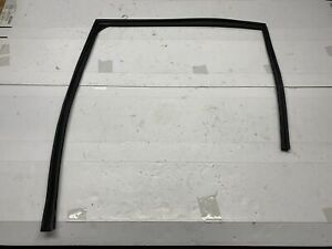 13-15 HONDA CIVIC SEDAN LEFT REAR WINDOW RUN CHANNEL GUIDE RUBBER SEAL