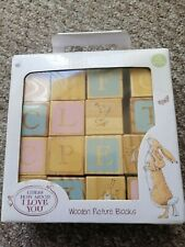 WOODEN PICTURE BLOCKS.