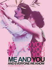 ME AND YOU AND EVERYONE WE KNOW Movie POSTER 27x40 B John Hawkes Miranda July