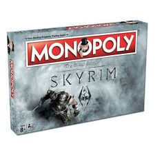 31717 MONOPOLY SKYRIM THE GLIDER SCROLLS V EDITION BOARD GAME PROPERTY