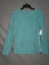Basic Editions Women's Micro Fleece Pullover Sweater Small
