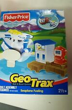Fisher Price GeoTrax Rail & Road System-Seaplane Fueling #G5514-NEW!