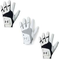 Under Armour Mens Golf Glove Sports Gym Training Gloves Mittens Black White Grey