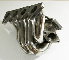 For 88-00 Honda Civic B Series CRX DEl Sol Tubular Turbo Manifold Stainless
