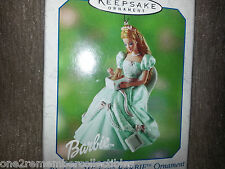 HALLMARK Keepsake 2002 BIRTHDAY WISHES BARBIE #2 Series CHRISTMAS ORNAMENT New