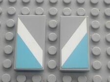 RARE LEGO MdStone tile 2x4 ref 87079 + Stickers 94765 / Set  10219 Maersk train
