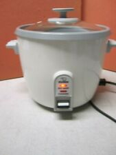 Zojirushi NHS-10 RICE COOKER, 6 Cups Uncooked Rice Warmer & Steam Cooker, White