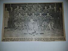 Omaha Knights 1950-51 Hockey Team HUGE  Picture Jack Forbes Mud Bruneteau