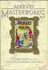 Marvel Masterworks Avengers 9 HC 1989 NM 11 12 13 14 15 16 17 18 19 20