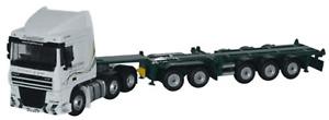 Oxford Diecast 1:76 DAF 05 With Skeletal Trailer 'Freightliner' DAF03CT
