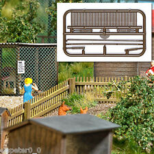 Busch 6006 Helical Fence Building Set Real Wood H0