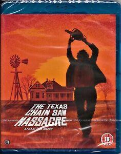 The Texas Chainsaw Massacre Blu Ray(Original Version) Reg/B Inc Registered Post