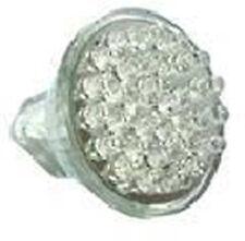 LOT DE 2 LAMPES LED MR11, culot GU4, 12VC, 1.5W, 120° JAUNE, ø35