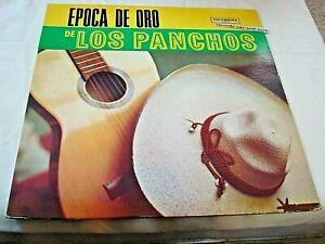 EPOCA DE ORO DE LOS PANCHOS-COLOMBINA 3000 VG/VG VINYL RECORD ALBUM LP
