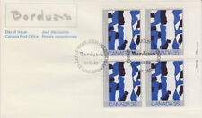 Canada #889 35¢ Canadian Painters UR Plate Block First Day Cover