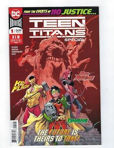 Teen Titans Special # 1 2nd Print NM 1st Appearance of Crush Lobo's Daughter