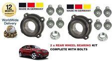 para BMW X6 E71 E72 2008> 2x Kit de rodamientos rueda trasera COMPLETO