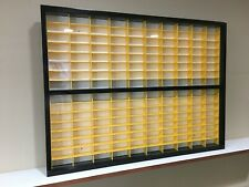 Display case cabinet for 1/64 diecast scale cars (hot wheels, matchbox) 160N3C