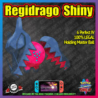 Shiny REGIDRAGO | Crown of Tundra | 100% Legal | 6IV |  Pokemon Sword Shield