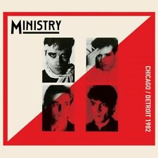 MINISTRY - Chicago/Detroit 1982 CD Al Jourgensen Early yrs New Wave Style