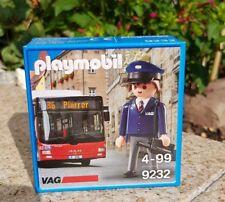 Playmobil 9232 Sonderfigur VAG Nürnberg NEU  OVP limitierte Auflage Bus Fahrer