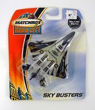 MATCHBOX FIGHTER JET Sky Busters Die-Cast MOC COMPLETE 2003