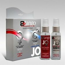 Jo 2 to Tango Pack Personal Lubricant Enhance Stimulate Prolong Excite New Lube