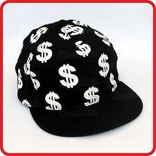 KIDS CHILDRENS BOYS GIRLS $ SIGNS DOLLAR DOLLARS MONEY BASEBALL CAP HAT-DRESS UP